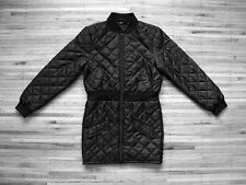 BLVCK SCVLE Women's Long Bomber Jacket sz L _ black scale supreme stussy coat