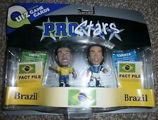Ronaldinho & Adriano - Pro Stars - Corinthian - Football Figures - Brazil - 2005