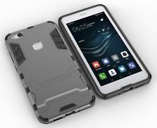 Huawei P10 Plus - Slim Tough Shock Proof Hybrid Armor Phone Case Cover Kickstand