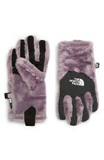 THE NORTH FACE Osito E-Tip Fleece Gloves PURPLE size Large L (girl)