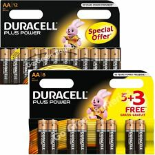 20x Duracell AA Plus Power Alkaline Batteries Duralock LR6 MN1500 MIGNON 2027exp