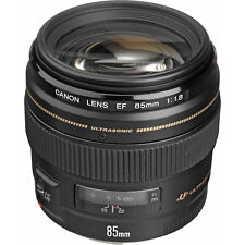 UK seller - Canon EF 85mm F/1.8 USM Lens - Free Fully Insured Postage