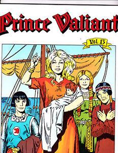"Prince Valiant Vol 13-1991-Strip Reprints Soft Cover-"" Sun Goddess -1st Print! """