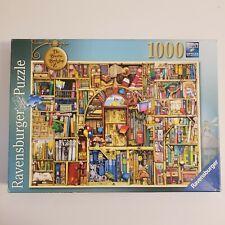 Ravensburger 1000 Piece Bizarre Bookshop 2 puzzle 2013 Colin Thompson - Complete