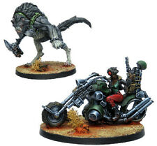 Infinity Miniatures: Non-Aligned Armies: Carmen Johns & Batard