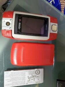 T-Mobile Sidekick ID PV150 Sharp Cell Phone Slide  Used orange