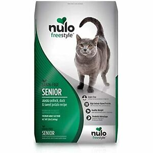 Nulo Senior Freestyle Dry Cat Food: All Natural Ingredient Diet For Digestive &