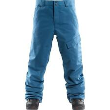 FOURSQUARE Men's WORK Insulated Snow Pants - Blue Print - XL - NWT