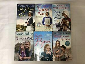 6x War/Nurse Fiction Books The Nurse's War Runaway Workhouse Orphans Nancy's War