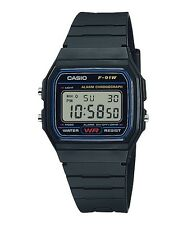 Casio Classic F91W-1 WR Digital Black Resin Wrist Watch Alarm F-91 USA Seller