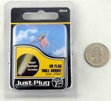 New listing Us Flag Wall Mount Just Plug Lighting System (Small) - Woodland Scenics #Jp5953