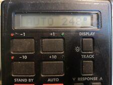 Autohelm 6000 autopilot display