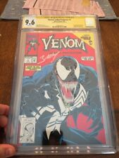 Venom Lethal Protector Issue #1  Foil CGC 9.6 SS Mark Bagley 1993 1st Own Title