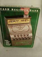 COUNT& SAVE Register Bank 4 Coin Cash Register toy