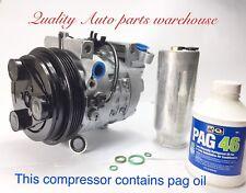 Subaru Legacy (98-99); Forester (01- 02) 4 Cylinder A/C Compressor Reman w/ Wrty