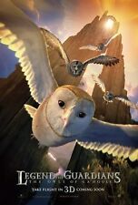 Legends Of The Guardian movie poster 11 x 17 inches  (style a) Owl poster