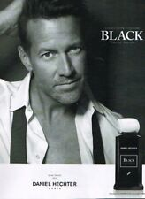 G- Publicité Advertising 2017 Eau de Parfum Black Daniel Hecheter James Denton