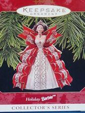 Hallmark Keepsake Ornament Holiday Barbie 1997 & FREE GIFT WITH ORDER!  NEW ITEM