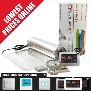 Under Laminate and Wood Floor Heating Kit, 150w/m2 Underfloor Heating Foil Mat.