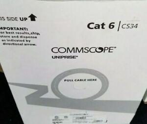 Commscope Uniprise Solutions Cat6 CMP Blue Plenum 1000ft CS34P 874019914/10