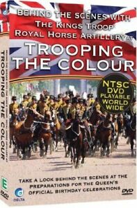 Behind The Scenes At Trooping The Colour (DVD, 2012) now rare DVD HM The Queen