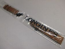 New Longines Brown Alligator Leather 22mm x 20mm Watch Strap Bands 115+75 Long