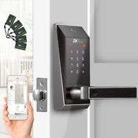 Smart Keyless Door Lock with Bluetooth + 2pcs Mifare Card Keypad Digital Lock
