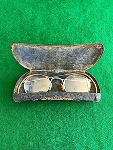 gold vintage eyeglasses