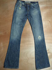 ** JOES JEANS **  ENO Distressed Destroyed Great Flare Womens Jeans 24 x 35