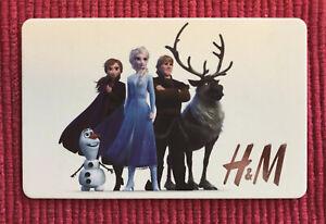 FROZEN GIFT CARD. DISNEYLAND DISNEY From H&M. No Cash Value
