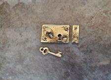 10 Dollhouse Miniature Round Modern Brass Furniture Knobs 1//12 Scale #SDIY578