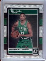 Jayson Tatum 2017-18 Donruss Optic The Rookies RC Boston Celtics A #3