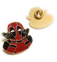 Deadpool Metal hat Pin <3 brooch hat pin cap jacket lapel cosplay marvel comics