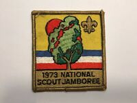 BSA 1973 National Scout Jamboree Patch (1973) *Boy Scouts of America*