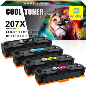 4x No Chip Toner Compatible for HP Color LaserJet Pro MFP M283fdw M255dw M255nw