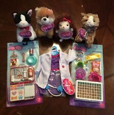 "18"" Doll PET RESCUE SET +VET Outfit +Animal Lot for My Life as American Girl Boy"