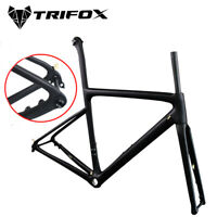2020 TRIFOX Disc Brake carbon road bike frame UD Thru Axle Rear Derailleur Frame
