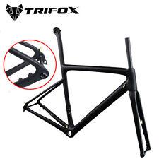 2020 TRIFOX Disc Brake carbon road bike frame UD Thru Axle Rear Derailleur Frame