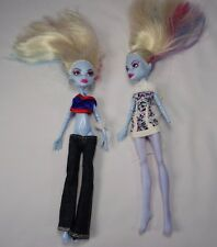 Monster High Doll Abbey Abby Bominable Lot