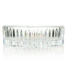 "(NIB) Waterford Crystal  5"" Wedge Cut Bottle Coaster"