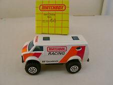 1983 MATCHBOX RACING SUPERFAST #44 4X4 CHEVY VAN BF GOODRICH NEW IN BOX