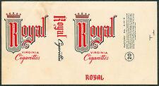 Philippine ROYAL Cigarette Label