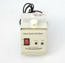 GLASS DRY BEAD STERILIZER HEATER DENTAL DENTISTRY LAB WITH FREE BEADS