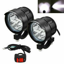 50W 2x XM-L T6 Motocicleta LED Luz de niebla de Conducción Faros Spot Luz lámpara cabezal