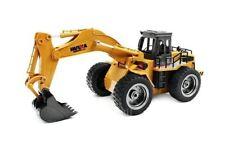 HUINA RC Excavateur 2.4 G 6CH avec Die Cast Seau