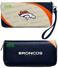 NFL Denver Broncos Curve Zip Organizer Women's Wallet