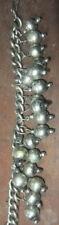 Vintage Estate Chunky Mono Charm Bracelet -2 lots Post FREE