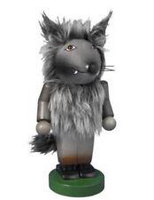 2013 Steinbach Chubby *Big Bad Wolf* Wood Nutcracker Signed Karla Steinbach New