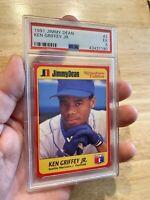Ken Griffey Jr. PSA 5 Card Jimmy Dean 1991 EX #2 Seattle Mariners Junior INVEST!
