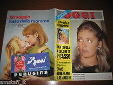 RIVISTA OGGI 1968/20=FRANCO NERO=SANDIE SHAW=ABEBE BIKILA=SILVANA PAMPANINI=